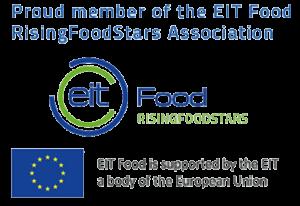 Proud member of the EIT Food RisingFoodStars Association
